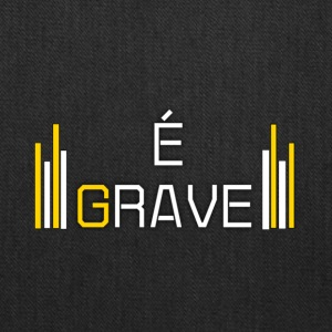 Design do canal É Grave - Tote Bag