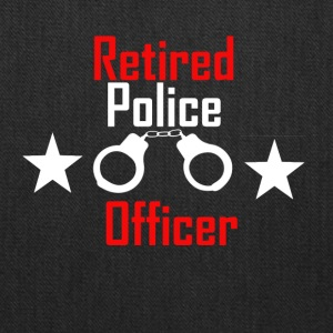 Retired Police Officer - Tote Bag