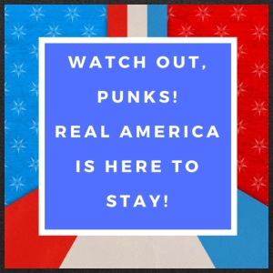 Real America Is Here To Stay - Tote Bag