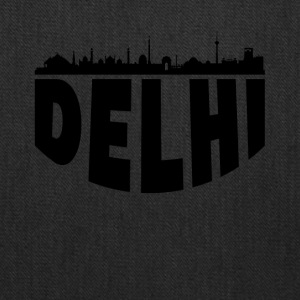 Delhi India Cityscape Skyline - Tote Bag