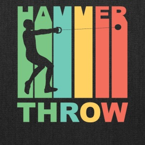 Vintage Hammer Throw Graphic - Tote Bag