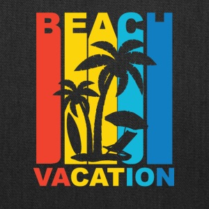 Vintage Beach Vacation Graphic - Tote Bag