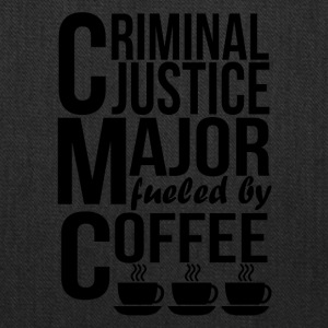 Criminal Justice Major Fueled By Coffee - Tote Bag
