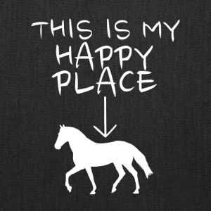 Happy Place Horse Riding - Tote Bag