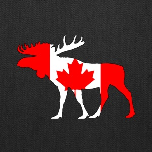 Canada Flag - Moose - Tote Bag