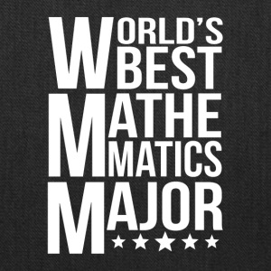 World's Best Mathematics Major - Tote Bag