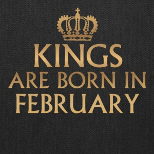 Kings are born in February! - Tote Bag