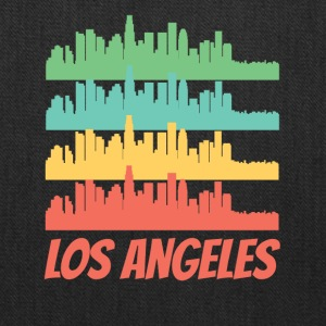 Retro Los Angeles CA Skyline Pop Art - Tote Bag