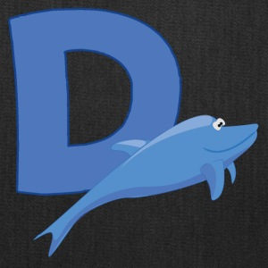 D Is For Dolphin - Tote Bag