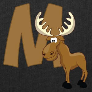 M Is For Moose - Tote Bag