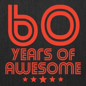 60 Years Of Awesome 60th Birthday - Tote Bag