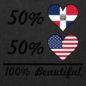 50% Dominican 50% American 100% Beautiful - Tote Bag