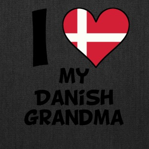 I Heart My Danish Grandma - Tote Bag
