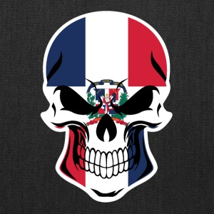 Dominican Flag Skull - Tote Bag