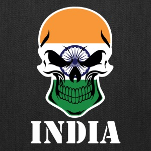 Indian Flag Skull India - Tote Bag