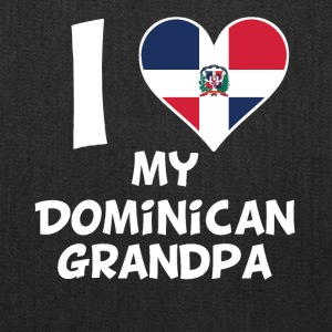 I Heart My Dominican Grandpa - Tote Bag