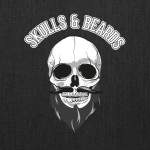 skulls beards - Tote Bag