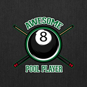 Awesome pool player - Tote Bag