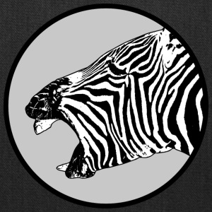 laughing zebra - Tote Bag
