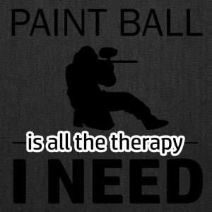 Paint Ball is my therapy - Tote Bag