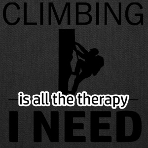 Climbing is my therapy - Tote Bag