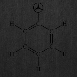 Mercedes Benzene - Tote Bag