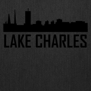 Lake Charles Louisiana City Skyline - Tote Bag