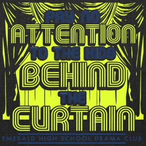 Pay No Attention To The Kids Behind The Curtain Em - Tote Bag