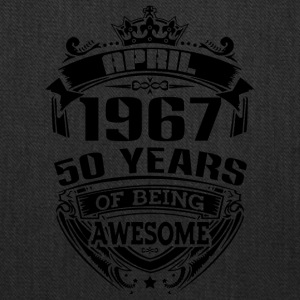 april 1967 50 years of being awesome - Tote Bag