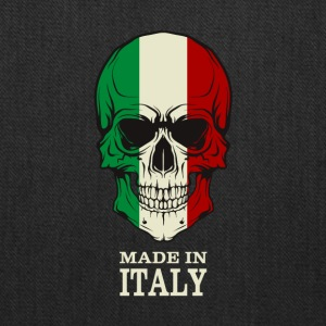 Made in Italy Skull Flag - Tote Bag