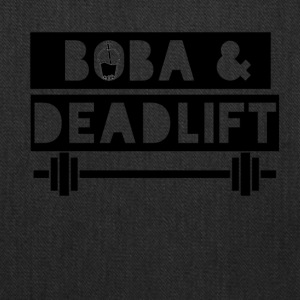 boba and deadlift - Tote Bag