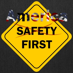 Safety umm America First Yellow - Tote Bag