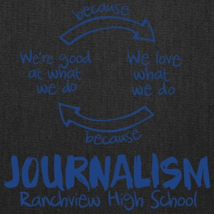 Journalism Ranch view High School - Tote Bag
