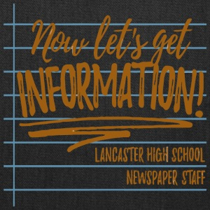 Lancaster High School Newspaper Staff - Tote Bag