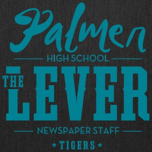 Palmer High School The Lever Newspaper Staff Tiger - Tote Bag