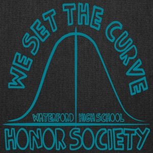 WE SET THE CURVE WATERFORD HIGH SCHOOL HONOR SOCIE - Tote Bag