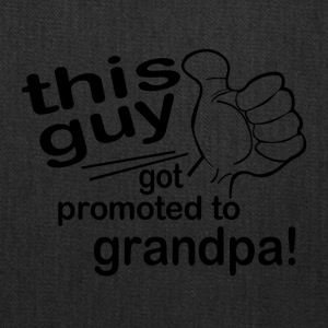 Promoted to Grandpa - Tote Bag