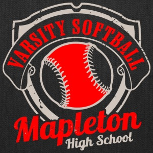 Varsity Softball Mapleton High School - Tote Bag