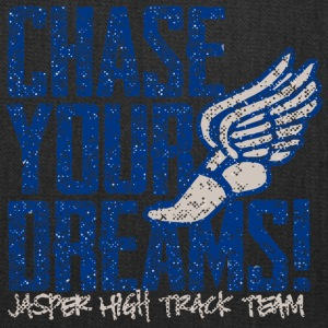 Chase Your Dreams Jasper High Track Team - Tote Bag