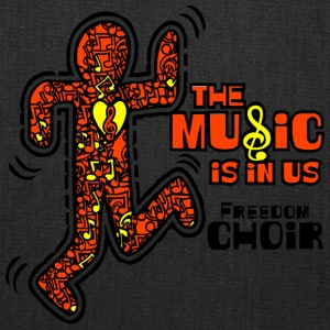 The Music Is In Us Freedom Choir - Tote Bag