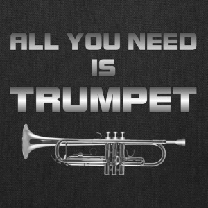 All you need is trumpet silver color - Tote Bag
