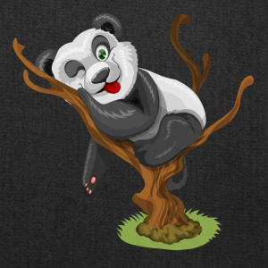 Sweet Panda Bear sleeping on Tree - Tote Bag