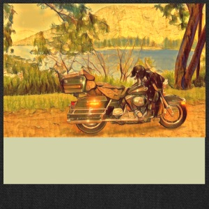 Harley at Lake Borumba. - Tote Bag