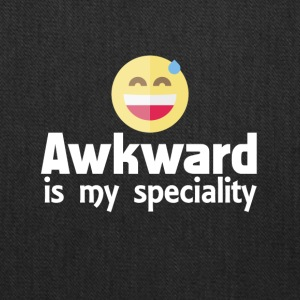 Awkward is my speciality - Tote Bag