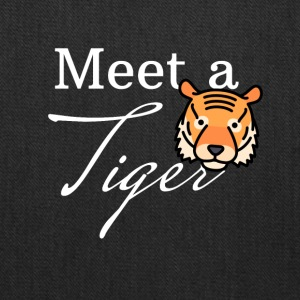 Meet a Tiger - Tote Bag