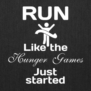 Run like the Hunger Games just started - Tote Bag