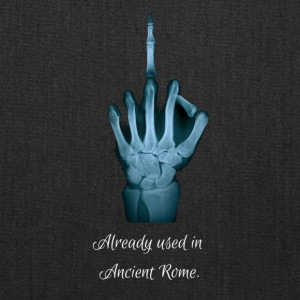 Middlefinger - Already used in Ancient Rome - Tote Bag