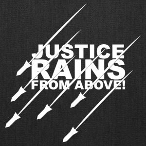 Justice Rains from Above! - Tote Bag