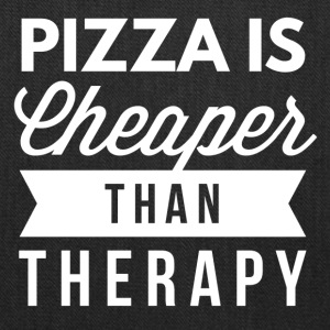 Pizza is cheaper than therapy - Tote Bag