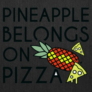 pineapple pizza - Tote Bag